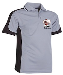 Adult Grey Polo Shirts