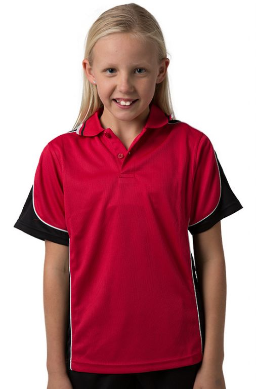 Kid\'s Red Polo Shirts